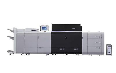 imagePress C10000VP е първата цветна машина на Canon, със скорост 100 страници в минута