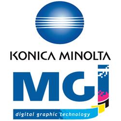 Нова фаза на алианса между Konica Minolta и MGI Digital Technology