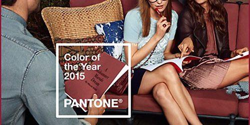 PANTONE обяви Цвета на 2015 година