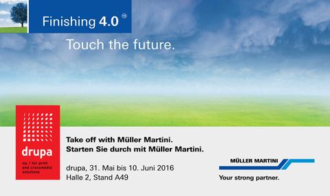 Muller Martini ще покаже Finishing 4.0 на drupa 2016