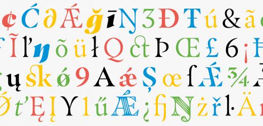 Masqualero – нов шрифт от Monotype