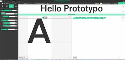 Първият Google параметричен шрифт