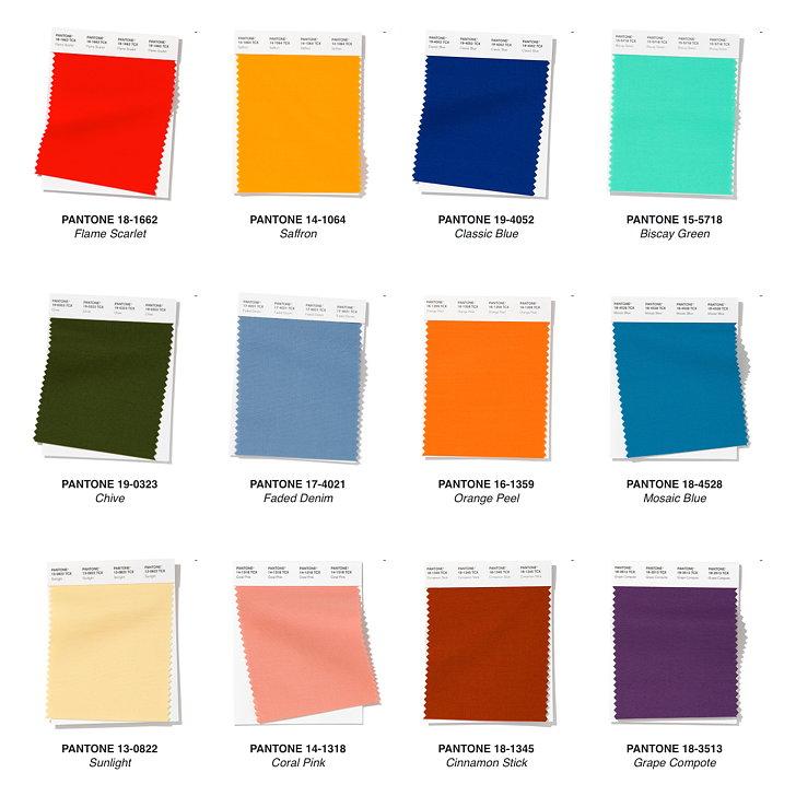 Pantone представиха Fashion Color Trend Report за пролет/лято 2020