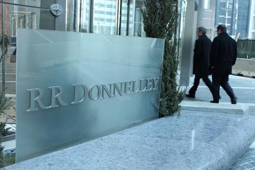 Слухове за сливане на Xerox и RR Donnelley