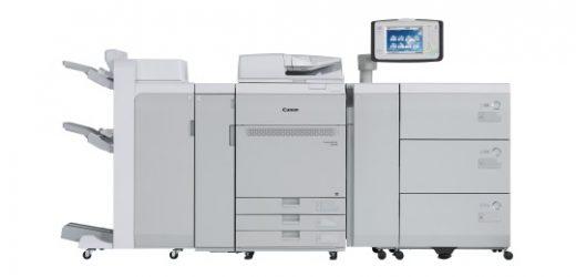 Новата Canon imagePRESS C910 печата на структурни хартии и банери до 1300 mm