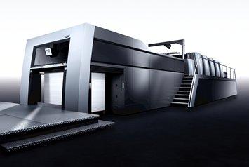 Heidelberg показа нови широкоформатни машини