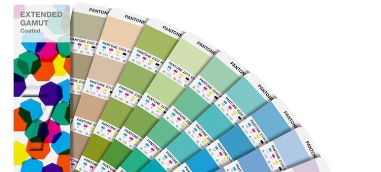 Нов Extended Gamut Guide на Pantone запълва празнината между CMYK и Spot печата на цветове