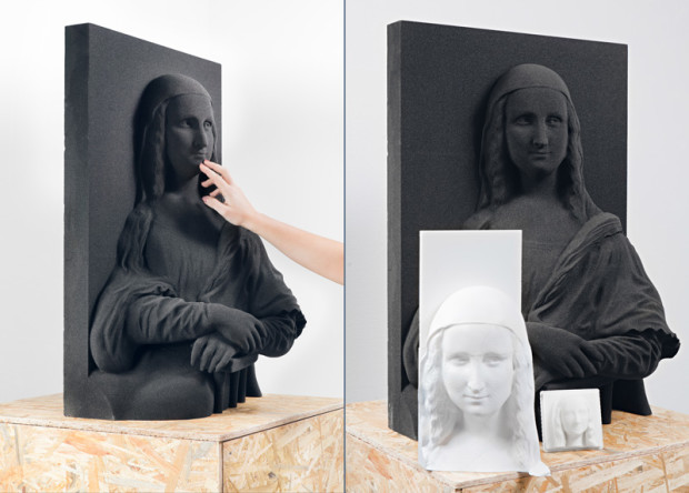 Класически картини, напечатани в 3D, за да могат слепи хора да се запознаят с тях