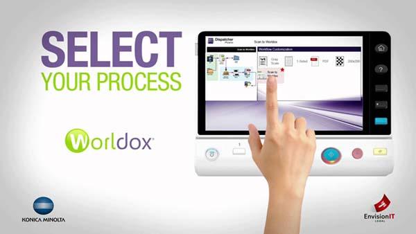 Launches Dispatcher Phoenix – решение за работен процес от Konica Minolta