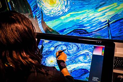 Adobe и NVIDIA работят върху 3D симулатор на рисунки с маслени бои