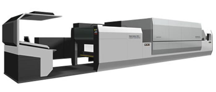 Komori планира полеви тестове на Impremia NS40 през пролетта на  2019