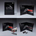 Светещата печатна реклама на Audi