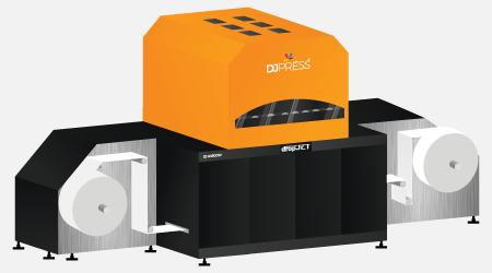 Нова печатна машина за етикети от DropJet