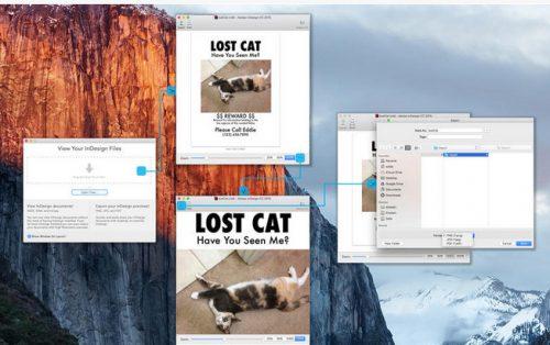 Безплатно приложение на Markzware за Mac App за преглед на InDesign, InCopy и IDML файлове