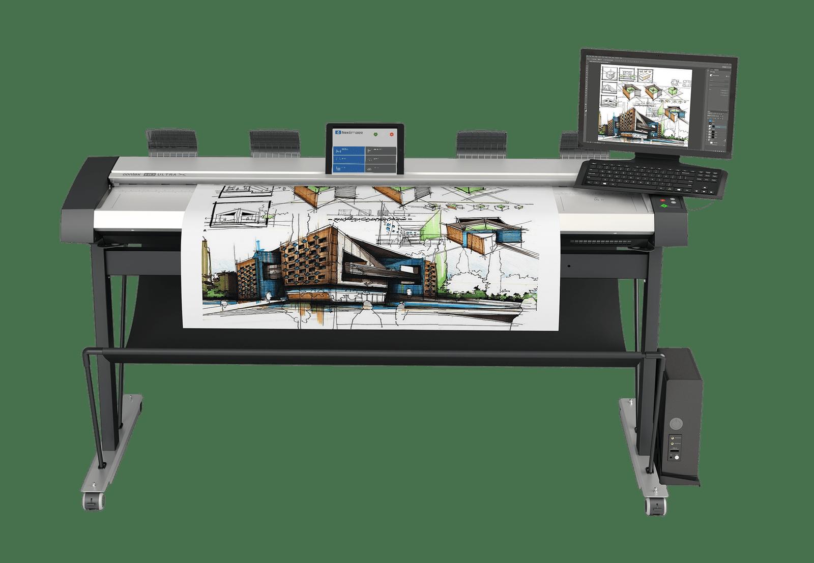 Contex представи най-бързия и широк CCD скенер на пазара