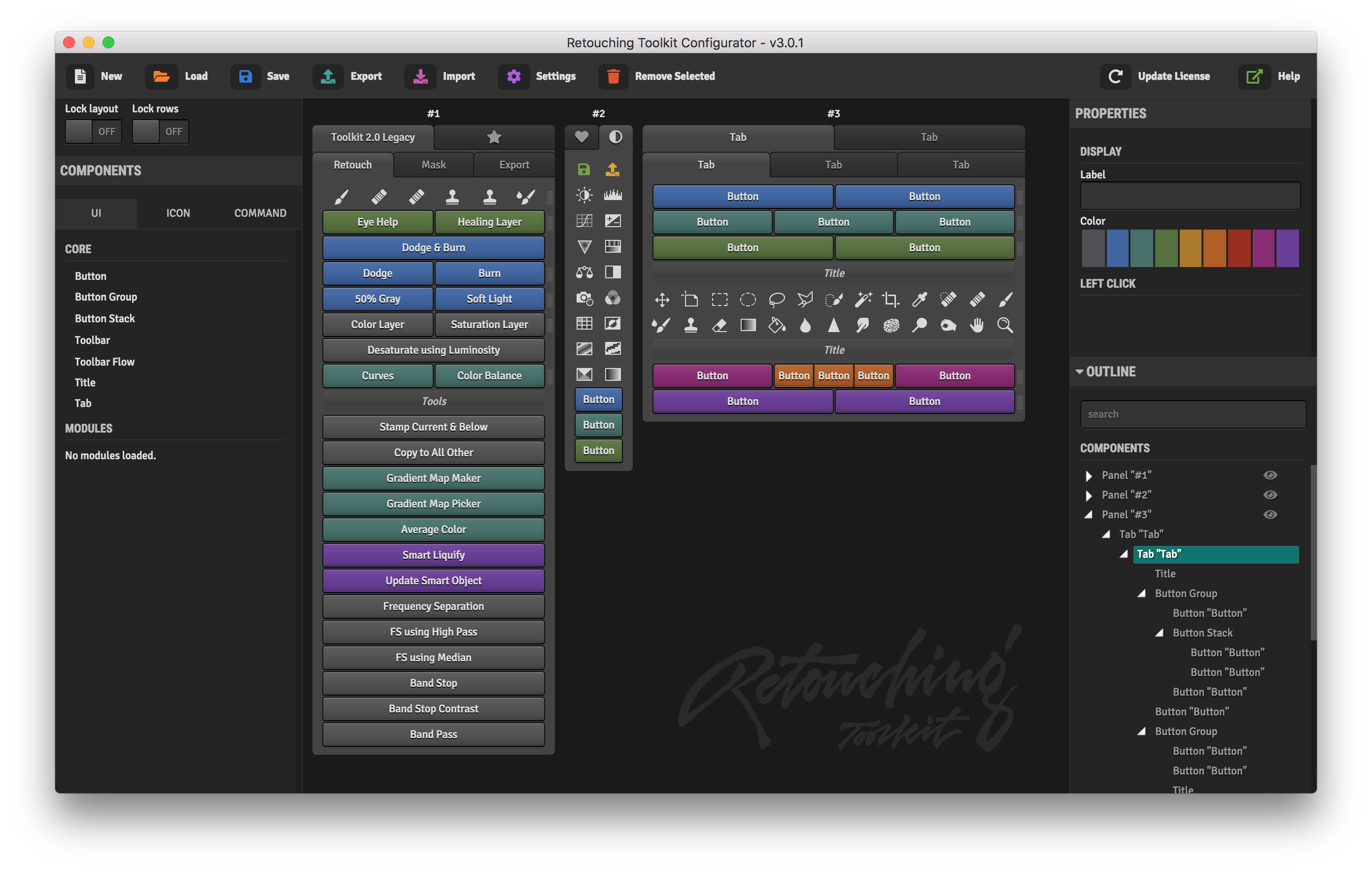 Conny Wallstrom Retouching Toolkit 3.0