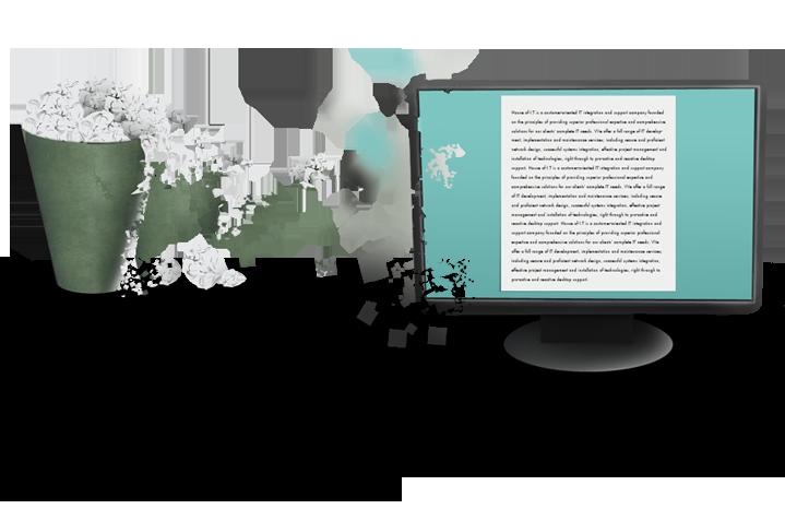 Екологичният призив за замяна на хартиените с електронни документи не работи