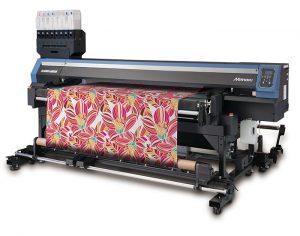 Нов текстилен принтер, задвижван от ремък от Mimaki