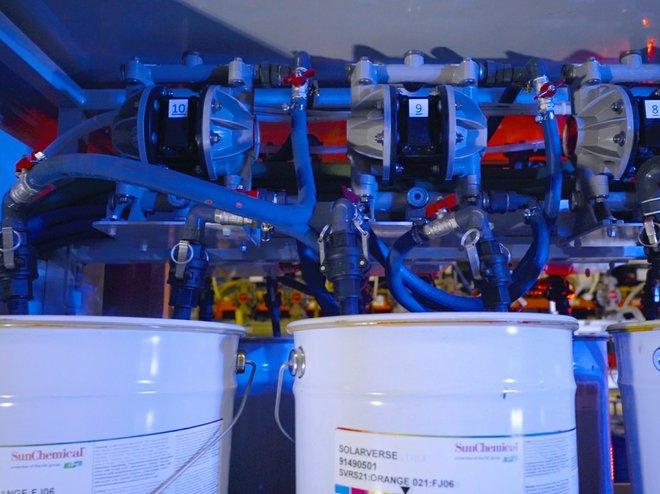Нови UV флексо концентрати от Sun Chemical