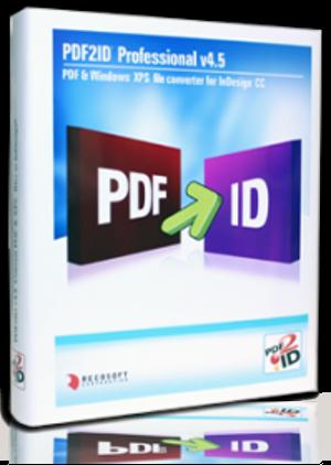 PDF2ID 4.5 конвертира PDF файлове за InDesign CC, CC 2014 и CC 2015