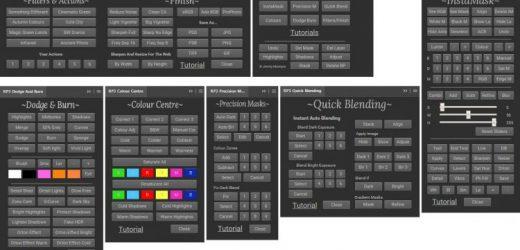Лесно комбиниране на различни експозиции във Photoshop с Raya Pro 3.0 Suite