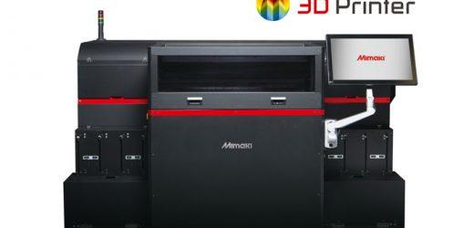 Фотореалистичен 3D печат от Mimaki