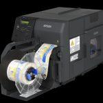ColorWorks C7500- компактен цветен етикетен принтер на Epson