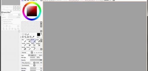 SAI Paint Tool – графичен редактор, ориентиран към рисуване
