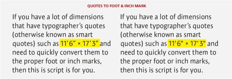 Рафинирайте текста с тези три скрипта за InDesign Scripts