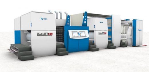KBA инсталира цветната дигитална преса, която печата на най-широка рола в света