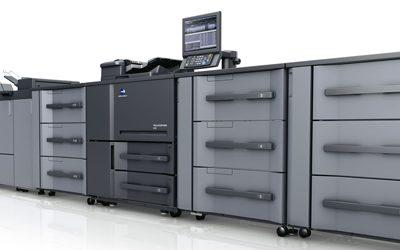 Новa серия монохромни цифрови печатни машини от Konica Minolta