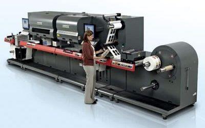EFI показа нова мастиленоструйна машина за етикети и софтуер