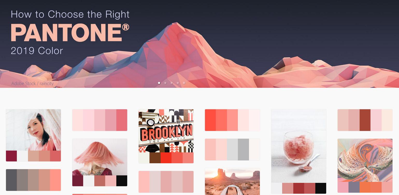 Разглеждайте цветови палитри в новият Adobe Color