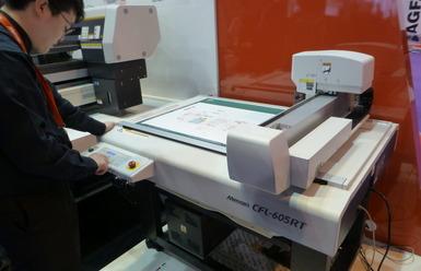 Нов режещ плотер на Mimaki за създаване на макети на опаковки