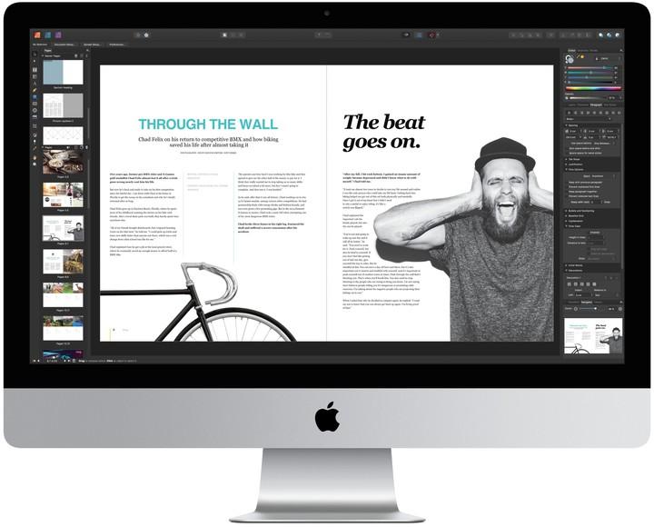 Нов Affinity Publisher със StudioLink технология