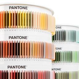 Каталог цветове по PANTONE  за пластмасови материали