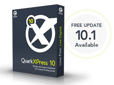 Безплатен ъпдейт на QuarkXPress 10