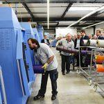 Събитие с отворени врати на Muller Martini в новия технологичен център на компанията в Маулбург