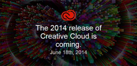 Adobe ще представят версията на Creative Cloud за 2014 на 18-и юни