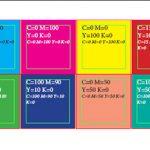 Безплатен скрипт генерира мрежа с дефинираните цветове в Indesign