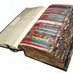 Уникална книга с мостри на платове от 18-и век
