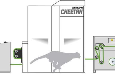 Xeikon представи високоскоростната етикетна цифрова машина Cheetah