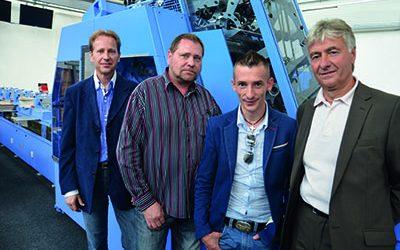 P.V.S. инвестира във FlexLiner – десетата си система за влагане от Muller Martini