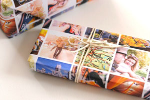 Британска компания предлага печат на персонализирана хартия за опаковане на подаръци