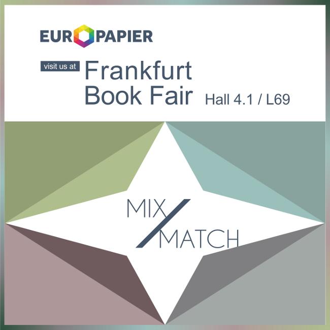 Европапир на панаира на книгата във Франкфурт