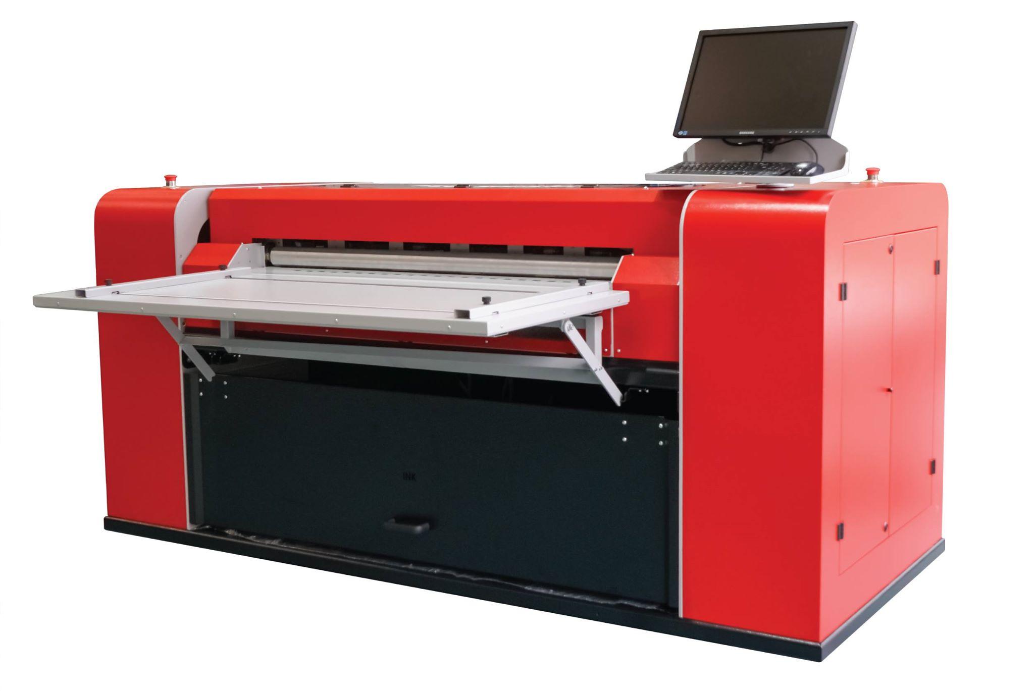 Машина за директен печат върху велпапе от Графтек ООД