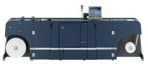 Нова цифрова производствена машина за печат на етикети от Konica Minolta