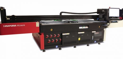 AGFA с нова плоскопечатаща машина – Anapurna M2540i