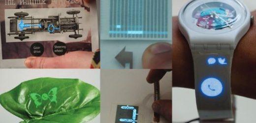 Как да отпечатате тъчскрийн дисплей върху всякаква повърхност