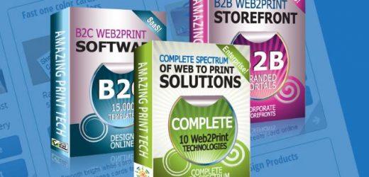 Предлагайте над 100 специфични продукта онлайн с решенията на Amazing Print Tech